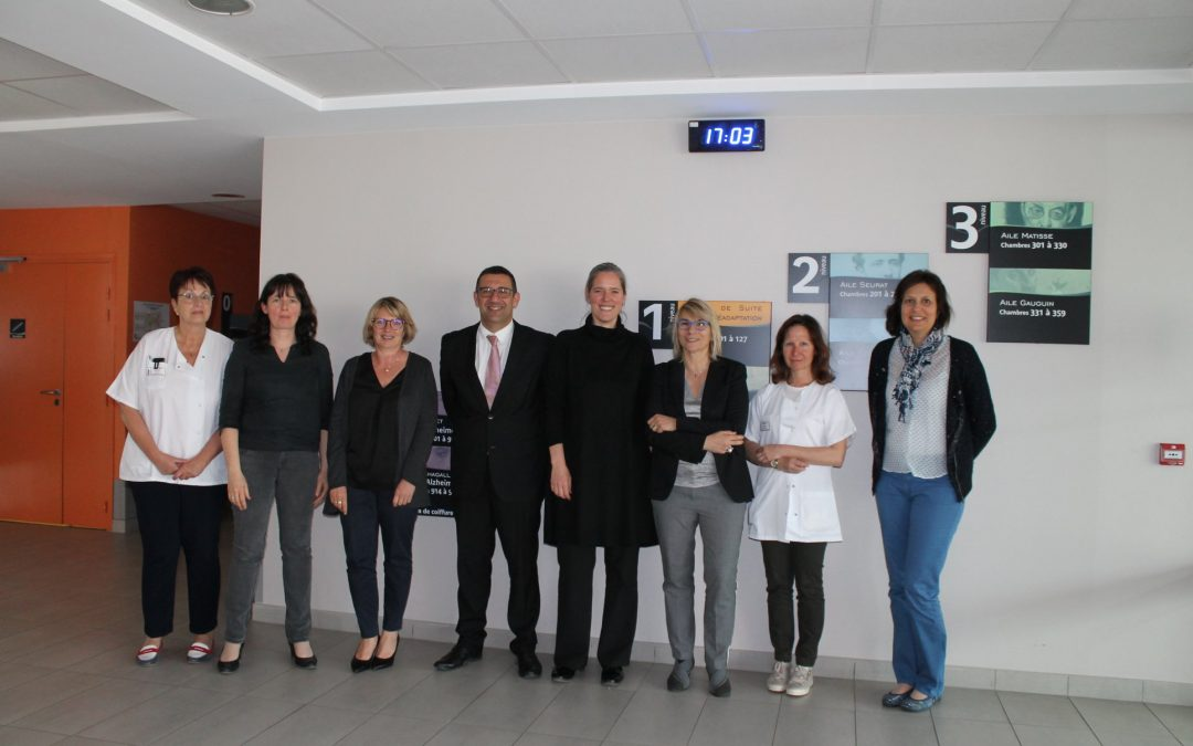 Lundi 29 avril 2019 : Visite du centre hospitalier intercommunal de Morestel.